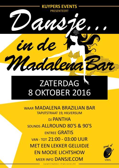 Flyer Madalenabar - Dansje...