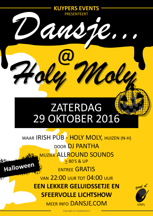 Dansje... @ Holy Moly Halloween 2016